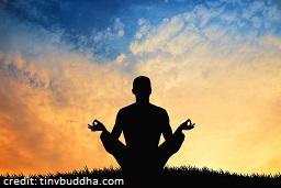 Meditation-Silhouette