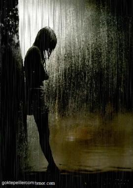 sad rain